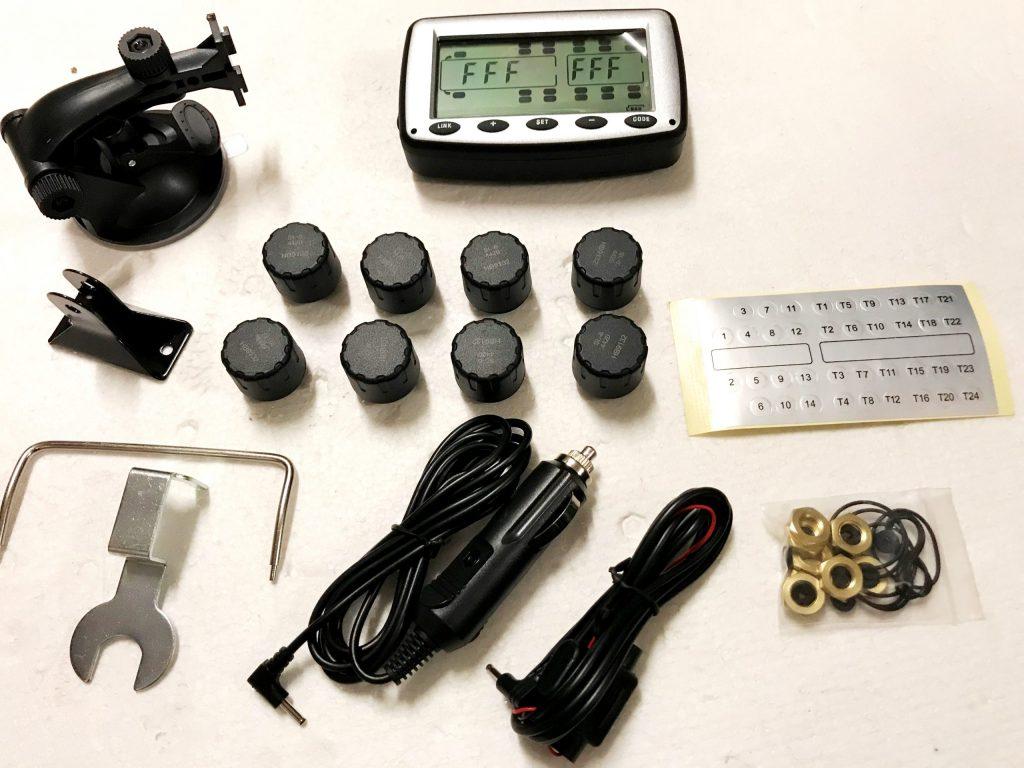 Typical forwarder kit